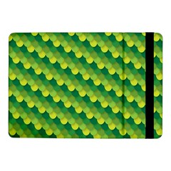 Dragon Scale Scales Pattern Samsung Galaxy Tab Pro 10 1  Flip Case by Amaryn4rt