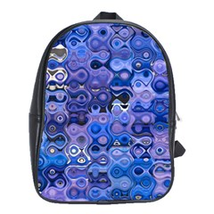 Background Texture Pattern Colorful School Bags(large)  by Amaryn4rt