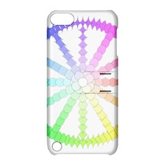 Polygon Evolution Wheel Geometry Apple Ipod Touch 5 Hardshell Case With Stand by Amaryn4rt