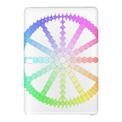 Polygon Evolution Wheel Geometry Samsung Galaxy Tab Pro 10 1 Hardshell Case by Amaryn4rt