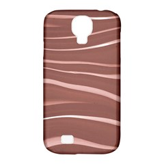 Lines Swinging Texture Background Samsung Galaxy S4 Classic Hardshell Case (pc+silicone) by Amaryn4rt