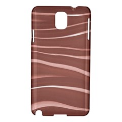 Lines Swinging Texture Background Samsung Galaxy Note 3 N9005 Hardshell Case by Amaryn4rt