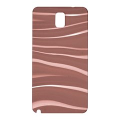 Lines Swinging Texture Background Samsung Galaxy Note 3 N9005 Hardshell Back Case by Amaryn4rt