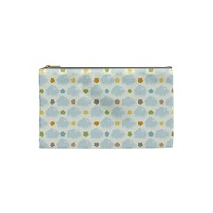 Baby Cloudy Star Cloud Rainbow Blue Sky Cosmetic Bag (small)