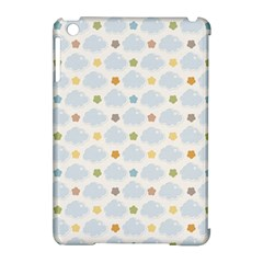 Baby Cloudy Star Cloud Rainbow Blue Sky Apple Ipad Mini Hardshell Case (compatible With Smart Cover) by Alisyart