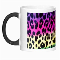 Cheetah Neon Rainbow Animal Morph Mugs by Alisyart
