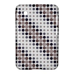 Circle Blue Grey Line Waves Black Samsung Galaxy Tab 2 (7 ) P3100 Hardshell Case  by Alisyart