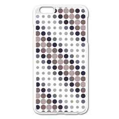 Circle Blue Grey Line Waves Black Apple Iphone 6 Plus/6s Plus Enamel White Case by Alisyart