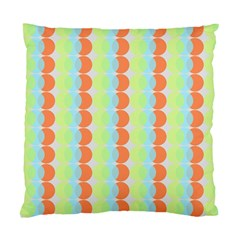 Circles Orange Blue Green Yellow Standard Cushion Case (one Side)