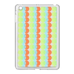 Circles Orange Blue Green Yellow Apple Ipad Mini Case (white) by Alisyart