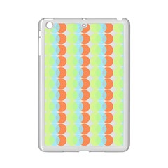 Circles Orange Blue Green Yellow Ipad Mini 2 Enamel Coated Cases