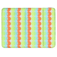 Circles Orange Blue Green Yellow Samsung Galaxy Tab 7  P1000 Flip Case