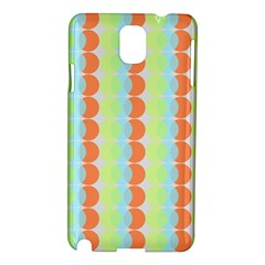 Circles Orange Blue Green Yellow Samsung Galaxy Note 3 N9005 Hardshell Case by Alisyart