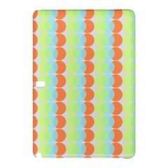 Circles Orange Blue Green Yellow Samsung Galaxy Tab Pro 10 1 Hardshell Case