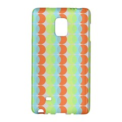 Circles Orange Blue Green Yellow Galaxy Note Edge by Alisyart