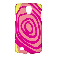 Doodle Shapes Large Line Circle Pink Red Yellow Galaxy S4 Active by Alisyart