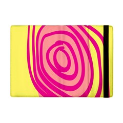 Doodle Shapes Large Line Circle Pink Red Yellow Ipad Mini 2 Flip Cases by Alisyart