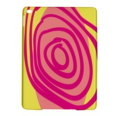 Doodle Shapes Large Line Circle Pink Red Yellow Ipad Air 2 Hardshell Cases