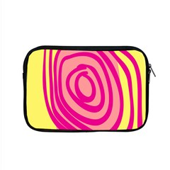 Doodle Shapes Large Line Circle Pink Red Yellow Apple Macbook Pro 15  Zipper Case by Alisyart