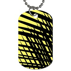 Doodle Shapes Large Scratched Included Dog Tag (two Sides)