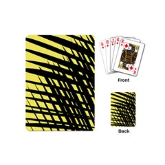 Doodle Shapes Large Scratched Included Playing Cards (mini)  by Alisyart