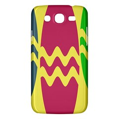 Easter Egg Shapes Large Wave Green Pink Blue Yellow Samsung Galaxy Mega 5 8 I9152 Hardshell Case  by Alisyart