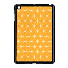 Yellow Stars Light White Orange Apple Ipad Mini Case (black) by Alisyart