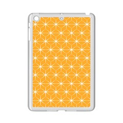 Yellow Stars Light White Orange Ipad Mini 2 Enamel Coated Cases