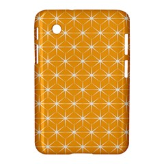Yellow Stars Light White Orange Samsung Galaxy Tab 2 (7 ) P3100 Hardshell Case  by Alisyart