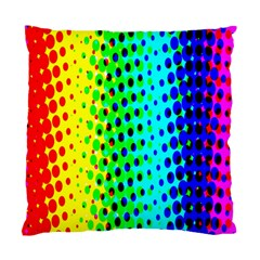 Comic Strip Dots Circle Rainbow Standard Cushion Case (two Sides) by Alisyart