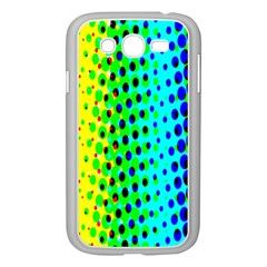 Comic Strip Dots Circle Rainbow Samsung Galaxy Grand Duos I9082 Case (white) by Alisyart