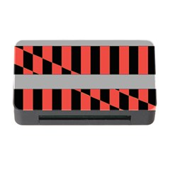 Falg Sign Star Line Black Red Memory Card Reader With Cf by Alisyart