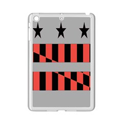 Falg Sign Star Line Black Red Ipad Mini 2 Enamel Coated Cases