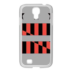 Falg Sign Star Line Black Red Samsung Galaxy S4 I9500/ I9505 Case (white) by Alisyart