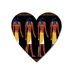 Egyptian Mummy Guard Treasure Monster Heart Magnet by Alisyart