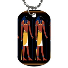 Egyptian Mummy Guard Treasure Monster Dog Tag (two Sides)