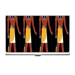 Egyptian Mummy Guard Treasure Monster Business Card Holders by Alisyart