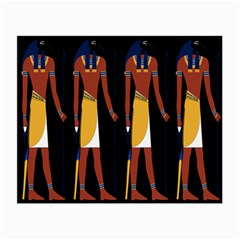Egyptian Mummy Guard Treasure Monster Small Glasses Cloth (2 Side)
