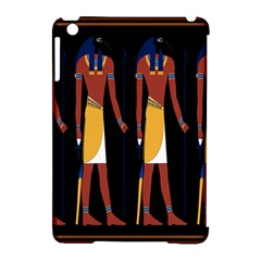 Egyptian Mummy Guard Treasure Monster Apple Ipad Mini Hardshell Case (compatible With Smart Cover)