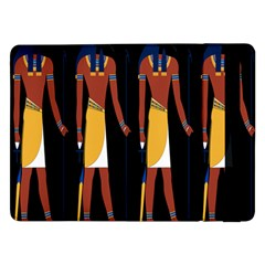 Egyptian Mummy Guard Treasure Monster Samsung Galaxy Tab Pro 12 2  Flip Case