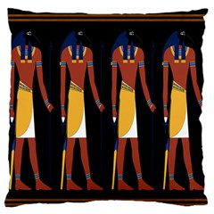 Egyptian Mummy Guard Treasure Monster Standard Flano Cushion Case (two Sides)