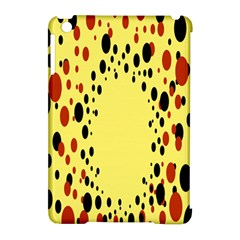 Gradients Dalmations Black Orange Yellow Apple Ipad Mini Hardshell Case (compatible With Smart Cover) by Alisyart
