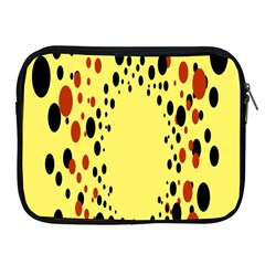 Gradients Dalmations Black Orange Yellow Apple Ipad 2/3/4 Zipper Cases by Alisyart