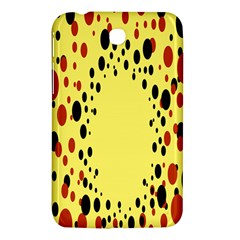 Gradients Dalmations Black Orange Yellow Samsung Galaxy Tab 3 (7 ) P3200 Hardshell Case  by Alisyart