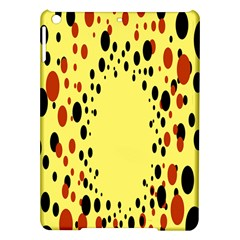 Gradients Dalmations Black Orange Yellow Ipad Air Hardshell Cases