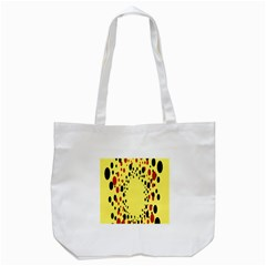 Gradients Dalmations Black Orange Yellow Tote Bag (white) by Alisyart