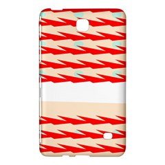 Chevron Wave Triangle Red White Circle Blue Samsung Galaxy Tab 4 (8 ) Hardshell Case  by Alisyart