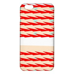 Chevron Wave Triangle Red White Circle Blue Iphone 6 Plus/6s Plus Tpu Case by Alisyart