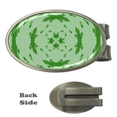 Green Hole Money Clips (oval)