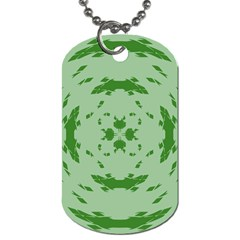 Green Hole Dog Tag (one Side) by Alisyart